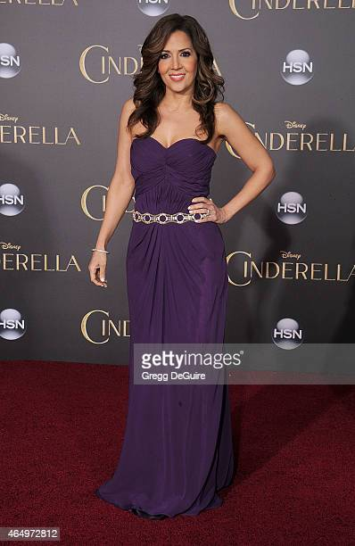Actress Maria Canals Barrera arrives at the World Premiere of Disney's 'Cinderella' at the El Capitan Theatre on March 1 2015 in Hollywood California