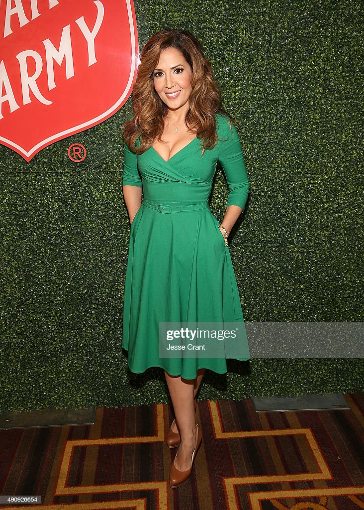 Actress Maria Canals Barrera attends The Salvation Army Sally Awards at the JW Marriot at LA Live on October 1 2015 in Los Angeles California