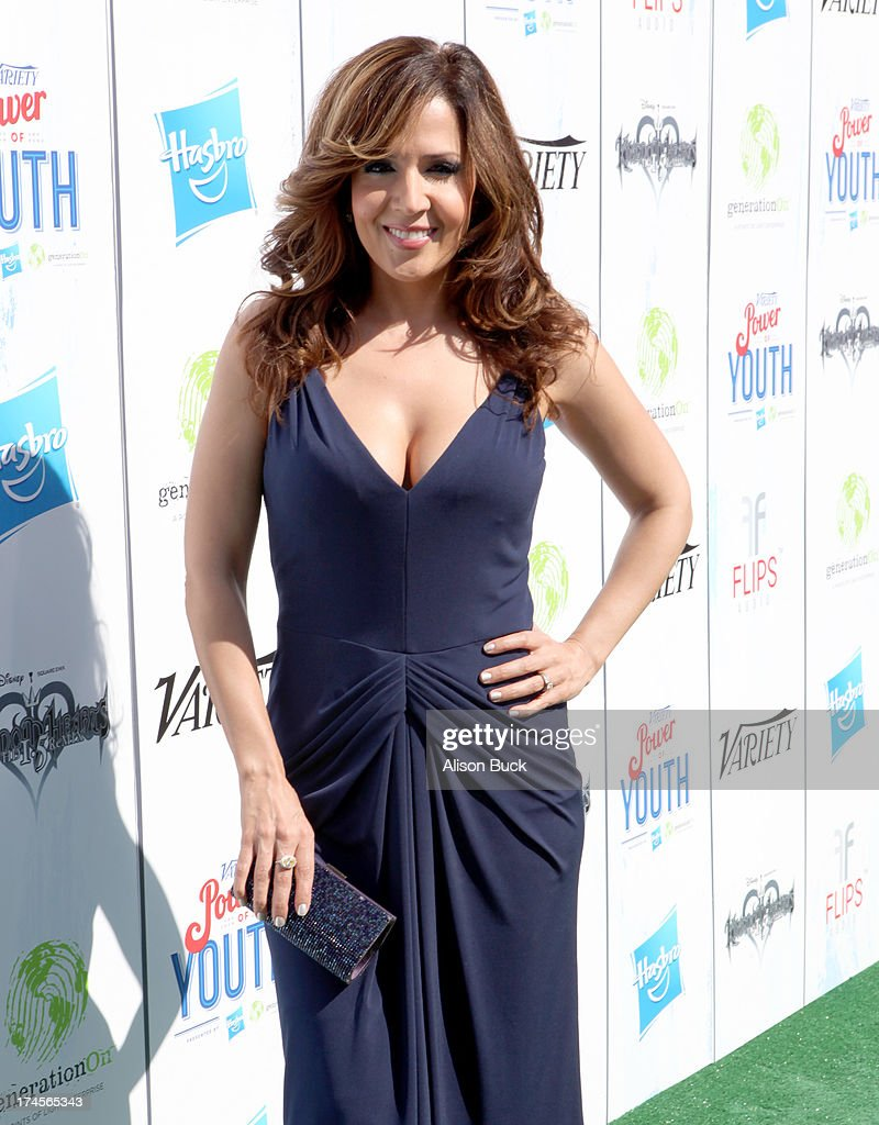 Actress Maria Canals Barrera attends Variety's Power of Youth presented by Hasbro, Inc. and generationOn at Universal Studios Backlot on July 27, 2013 in Universal City, California.