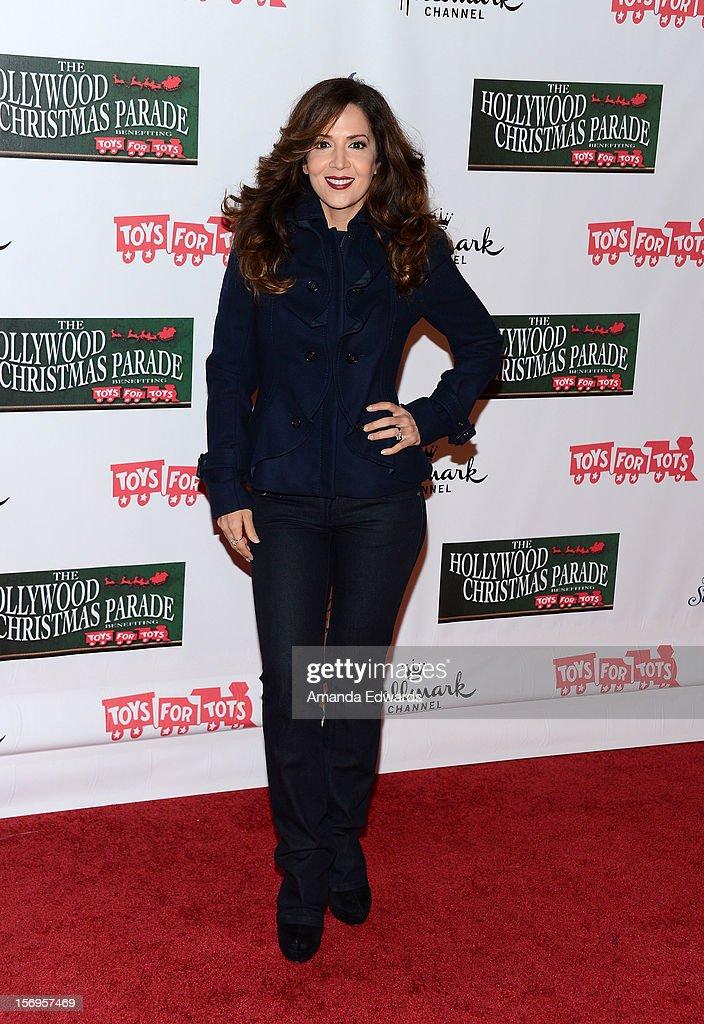 Actress Maria Canals-Barrera arrives at the 2012 Hollywood Christmas Parade Benefiting Marine Toys For Tots on November 25, 2012 in Hollywood, California.