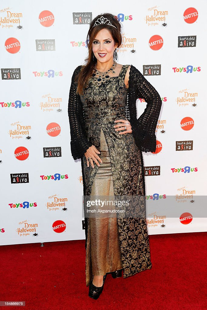 Actress Maria Canals-Barrera attends the 2012 'Dream Halloween' presented by Keep A Child Alive at Barker Hangar on October 27, 2012 in Santa Monica, California.