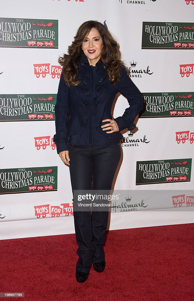 Actress Maria Canals-Barrera attends the 2012 Hollywood Christmas Parade Benefiting Marine Toys For Tots on November 25, 2012 in Los Angeles, California.