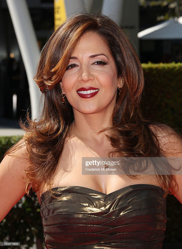 Actress Maria Canals-Barrera attends The Academy Of Television Arts & Sciences 2012 Creative Arts Emmy Awards at the Nokia Theatre L.A. Live on September 15, 2012 in Los Angeles, California.
