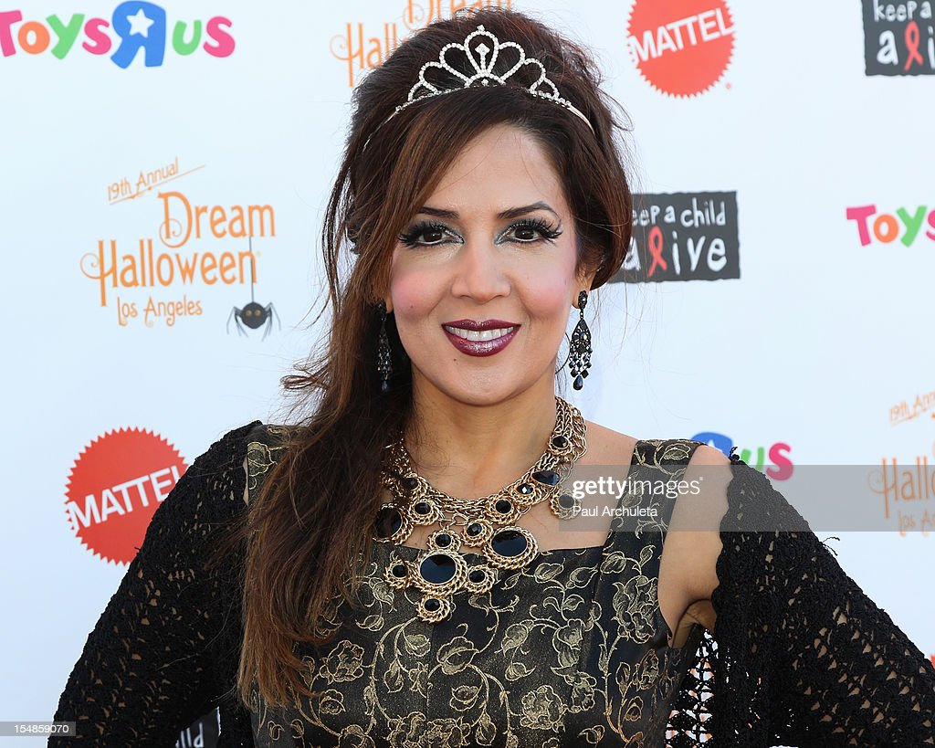 Actress Maria Canals-Barrera attends the Keep A Child Alive 2012 Dream Halloween Los Angeles charity event at Barker Hangar on October 27, 2012 in Santa Monica, California.