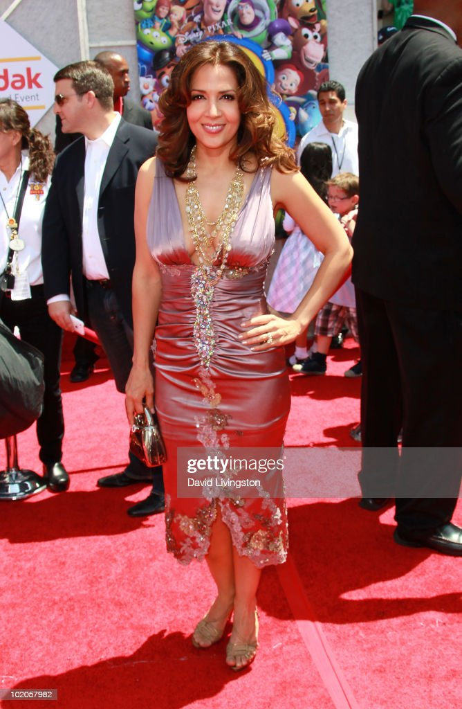 Actress Maria Canals-Barrera attends the Los Angeles premiere of 'Toy Story 3' at the El Capitan Theatre on June 13, 2010 in Hollywood, California.