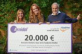 Arnidol And Maria Castro Deliver A Charity Check...