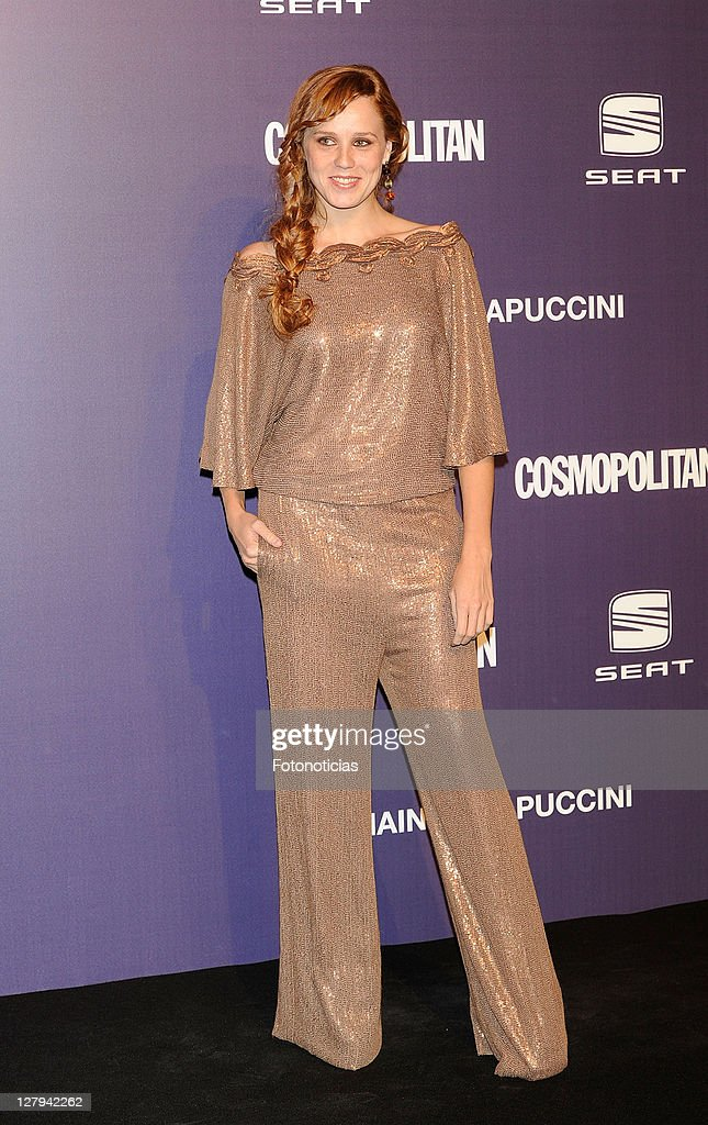 Actress <a gi-track='captionPersonalityLinkClicked' href=/galleries/search?phrase=Maria+Castro&family=editorial&specificpeople=3626635 ng-click='$event.stopPropagation()'>Maria Castro</a> attends 'Cosmopolitan Fun Fearless Female' Awards 2011 at the Ritz Hotel on October 3, 2011 in Madrid, Spain.