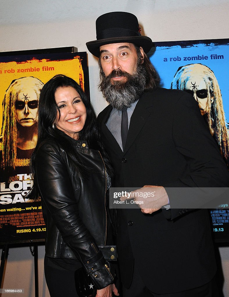Actress <a gi-track='captionPersonalityLinkClicked' href=/galleries/search?phrase=Maria+Conchita+Alonso&family=editorial&specificpeople=208900 ng-click='$event.stopPropagation()'>Maria Conchita Alonso</a> and actor Jeff Daniel Phillips arrive for Fan Screening Of Anchor Bay Films' Rob Zombie's 'The Lords Of Salem' - Arrivalsheld at AMC Burbank 16 on April 18, 2013 in Burbank, California.