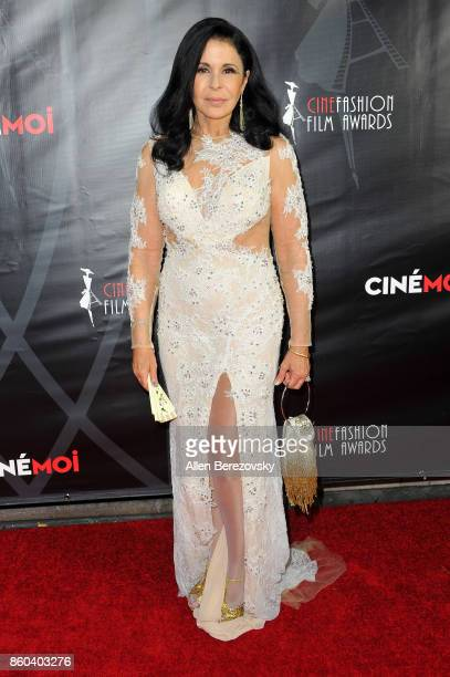 Actress Maria Conchita Alonso attends the 4th Annual CineFashion Film Awards at El Capitan Theatre on October 8 2017 in Los Angeles California