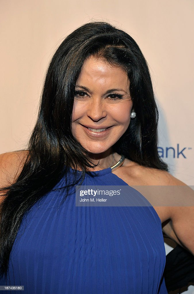 Actress <a gi-track='captionPersonalityLinkClicked' href=/galleries/search?phrase=Maria+Conchita+Alonso&family=editorial&specificpeople=208900 ng-click='$event.stopPropagation()'>Maria Conchita Alonso</a> attends the greater Los Angeles YWCA Rhapsody Ball at the Beverly Hills Hotel on November 8, 2013 in Beverly Hills, California.