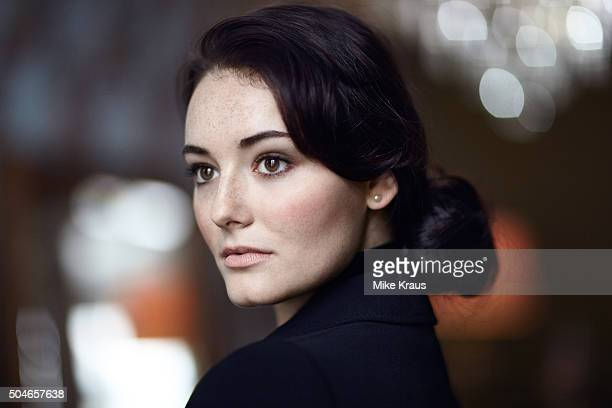 Actress Maria Ehrich is photographed for Self Assignment on April 15 2015 in Berlin Germany