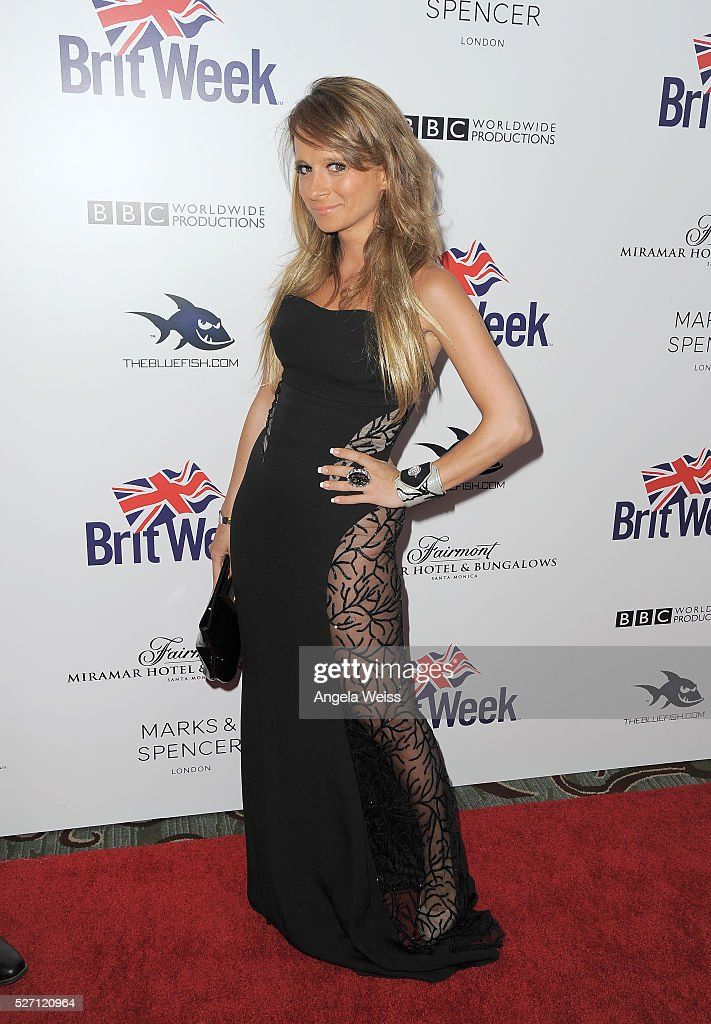 Actress Maria Elena Infantino attends BritWeek's 10th Anniversary VIP Reception & Gala at Fairmont Hotel on May 1, 2016 in Los Angeles, California.