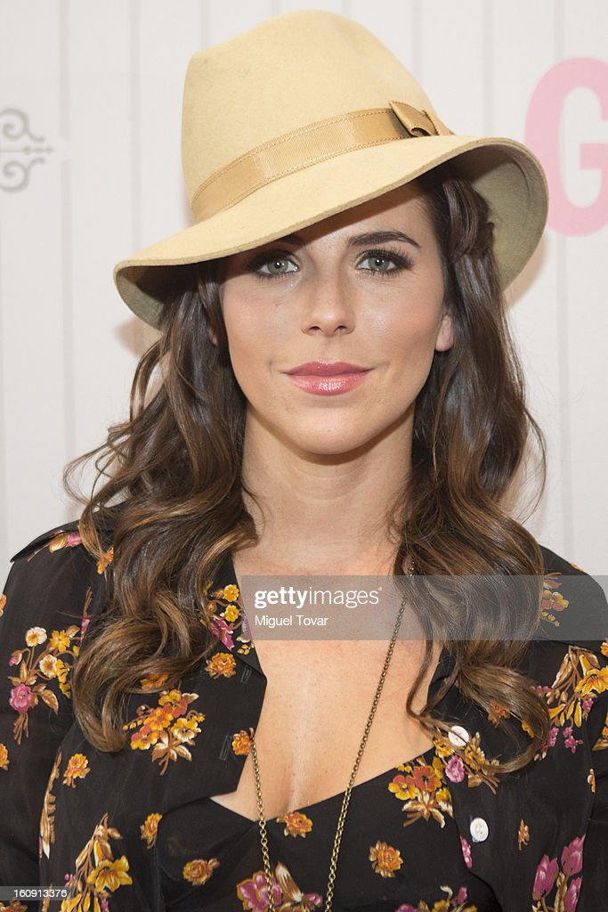 Actress Maria Fernanda Yepes attends the 'Glamour Magazine Beauty Awards' at Indianilla cultural center on February 7, 2013 in Mexico City, Mexico.