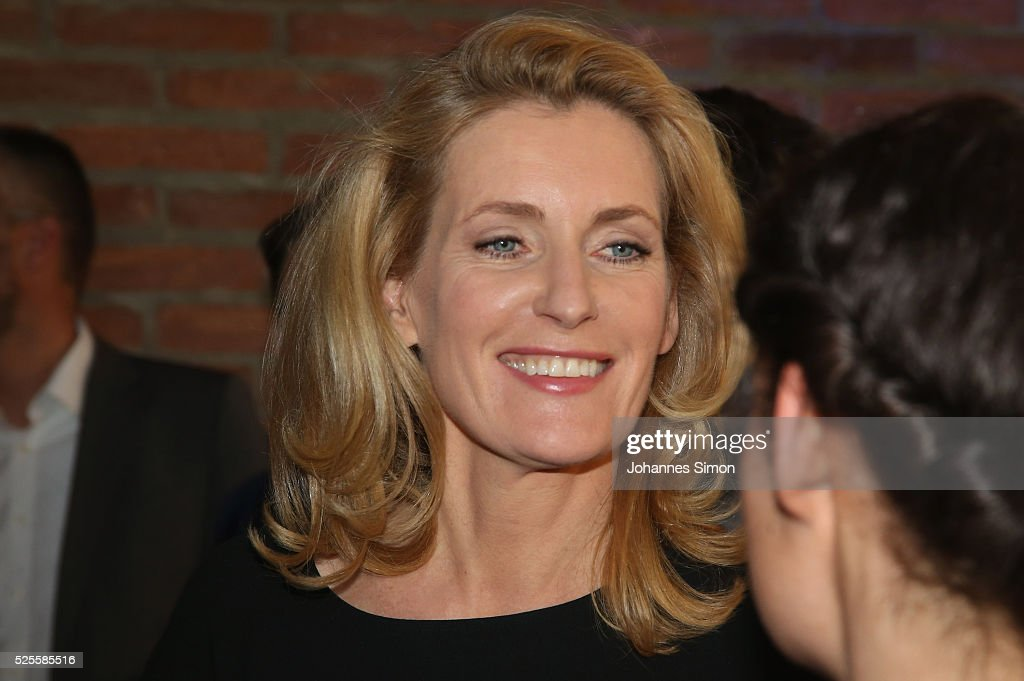 Actress Maria Furtwaengler attends the FilmFernsehFonds Bayern celebrations at Gasteig Carl-Orff-Saal on April 28, 2016 in Munich, Germany.