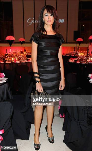 Actress Maria Grazia Cucinotta attends the Gala Telethon during the 5th International Rome Film Festivalat Palazzo delle Esposizioni on October 29...