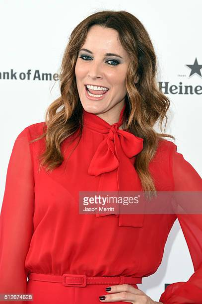 Actress Maria Joao Bastos attends the 2016 Film Independent Spirit Awards on February 27 2016 in Santa Monica California