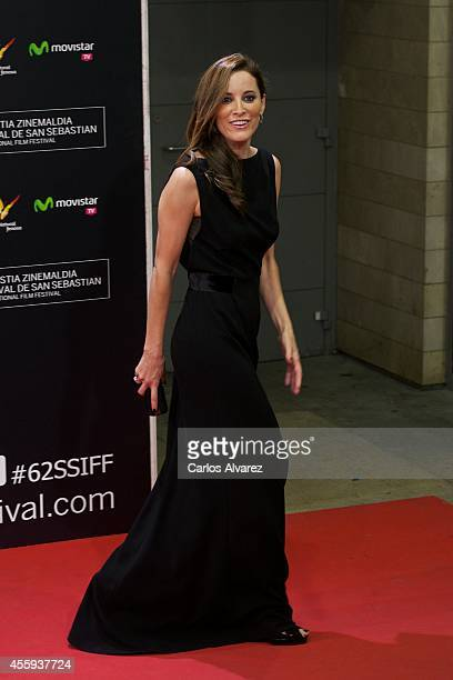 Actress Maria Joao Bastos attends the 'Casanova Variations' premiere at the Kursaal Palace during the 62nd San Sebastian Film Festival on September...
