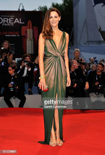 Actress Maria Joao Bastos attends the 'Lines Of Wellington' Premiere during The 69th Venice Film Festival at the Palazzo del Cinema on September 4...