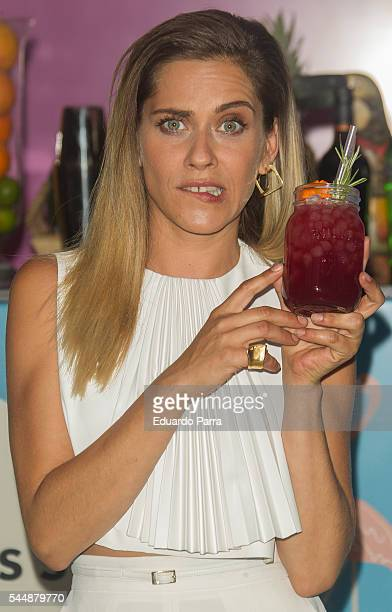 Actress Maria Leon attends the World Class Final Competition 2016 at Goya theatre on July 4 2016 in Madrid Spain