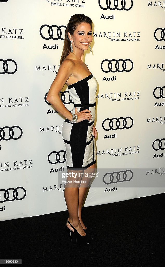 Audi Celebrates The 2012 Golden Globe Awards - Arrivals