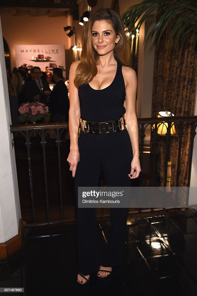 Actress Maria Menounos attends Entertainment Weekly Celebration Honoring The Screen Actors Guild Awards Nominees presented by Maybelline at Chateau...