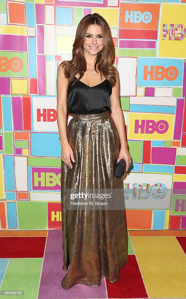 Actress Maria Menounos attends HBO's Annual Primetime Emmy Awards Post Awards Reception at The Plaza at the Pacific Design Center on August 25 2014...