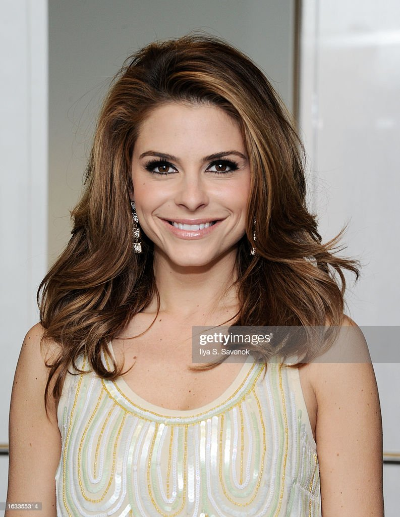 Actress Maria Menounos visits the SiriusXM Studios on March 8, 2013 in New York City.