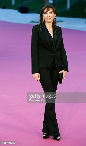 Actress Maria Pia Calzone attends the Roma Fiction Fest 2014 Closing Ceremony Pink Carpet at Auditorium Parco Della Musica on September 19 2014 in...