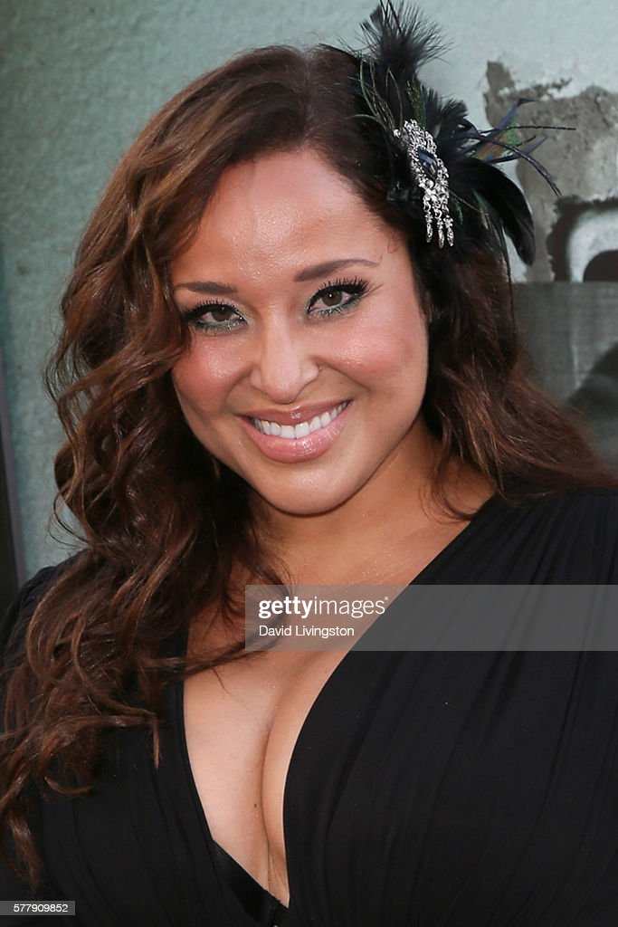 Actress Maria Russell arrives at the premiere of New Line Cinema's 'Lights Out' at the TCL Chinese Theatre on July 19 2016 in Hollywood California