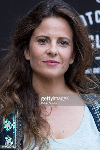 Actress Maria Tasende attends the Dewar's Scotch Egg Club opening party at the Real Fabrica de Tapices on July 6 2016 in Madrid Spain