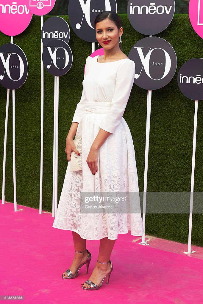 Actress Mariam Bachir attends 'Yo Dona' International awards on June 27, 2016 in Madrid, Spain.