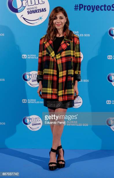 Actress Mariam Hernandez attends the 'Proyecto Sonrisas' party at Principe Pio theatre on March 23 2017 in Madrid Spain