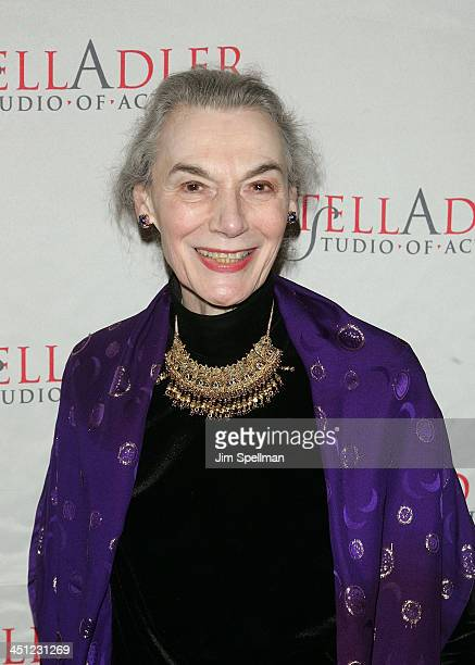 Actress Marian Seldes arrives at the 4th Annual Stella by Starlight Gala Benefit Honoring Martin Sheen at Chipriani 23rd st on March 17 2008 in New...