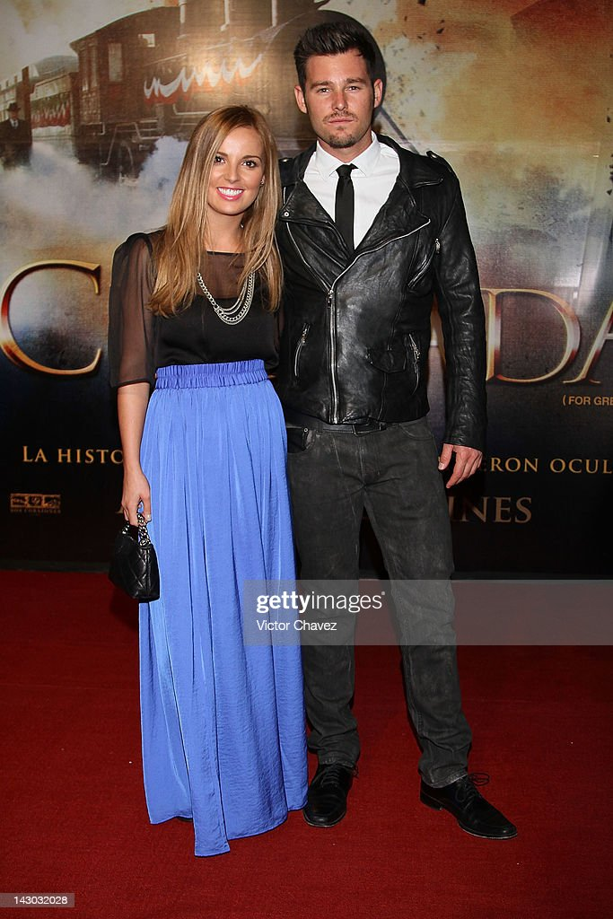 Actress Mariana Torre and Armando Torre attend the 'For Greater Glory (Cristiada)' Mexico City Premiere at Cinemex Antara Polanco on April 17, 2012 in Mexico City, Mexico.