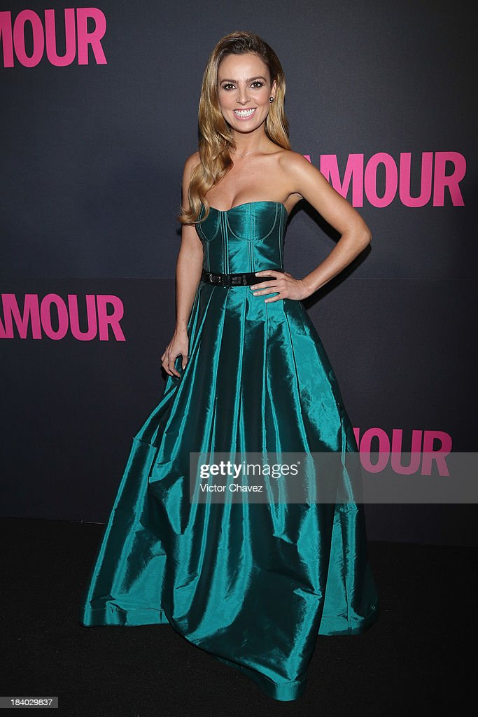 Actress Mariana Torres attends the Glamour Magazine 15th Anniversary at Casino Del Bosque on October 10, 2013 in Mexico City, Mexico.