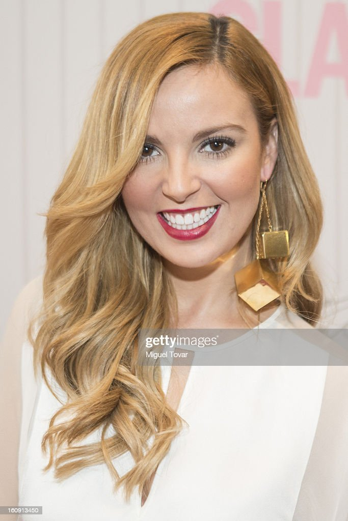 Actress Mariana Torres attends the 'Glamour Magazine Beauty Awards' at Indianilla cultural center on February 7, 2013 in Mexico City, Mexico.