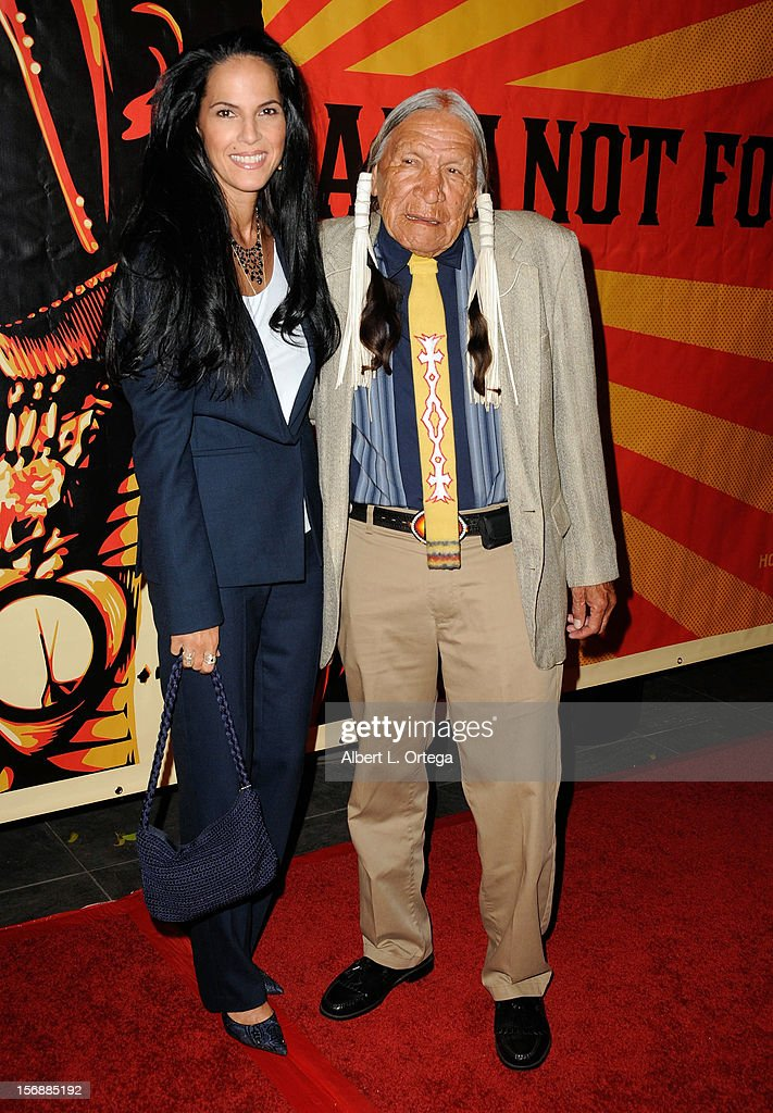 Actress Mariana Tosca and actor <a gi-track='captionPersonalityLinkClicked' href=/galleries/search?phrase=Saginaw+Grant+-+Actor&family=editorial&specificpeople=2111009 ng-click='$event.stopPropagation()'>Saginaw Grant</a> arrive for the 9th Annual Red Nation Film Festival Closing Night Gala held at Harmony Gold Theatre on November 14, 2012 in Los Angeles, California.