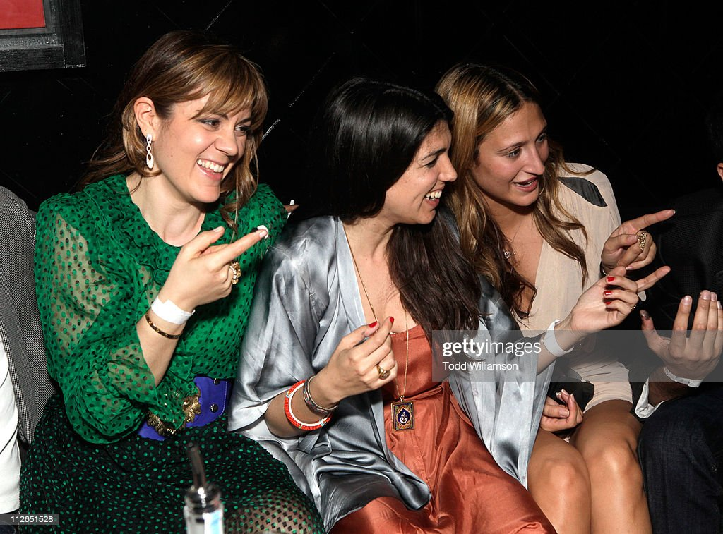 Actress Marianna Kulukundis, director Zeina Durra and Siran Manoukian attend 'The Imperialists Are Still Alive!' after party held at Trousdale on April 19, 2011 in West Hollywood, California.