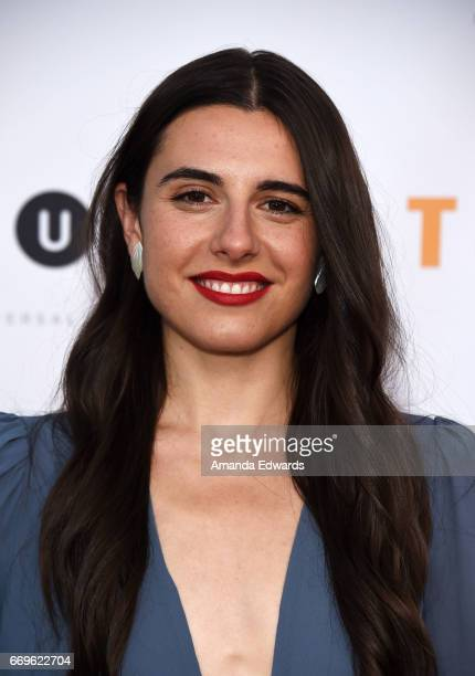 Actress Marianne Rendon arrives at the Bravo 'Imposters' For Your Consideration event with a food and cocktail reception presented by 'Top Chef' at...