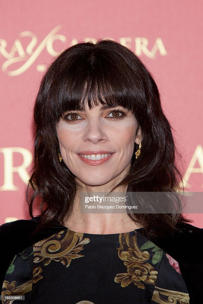 Actress Maribel Verdu attends 'Maja de los Goya Awards 2012' at Fernan Nunez Palace on March 7, 2013 in Madrid, Spain.