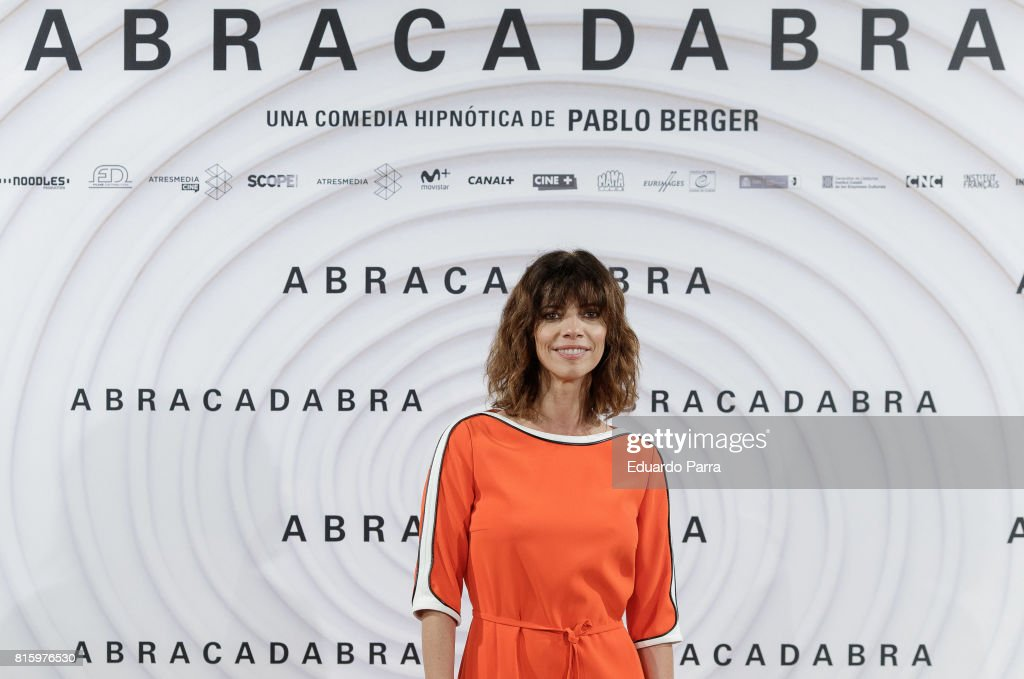 Actress Maribel Verdu attends the 'Abracadabra' photocall at Golden disco on July 17, 2017 in Madrid, Spain.