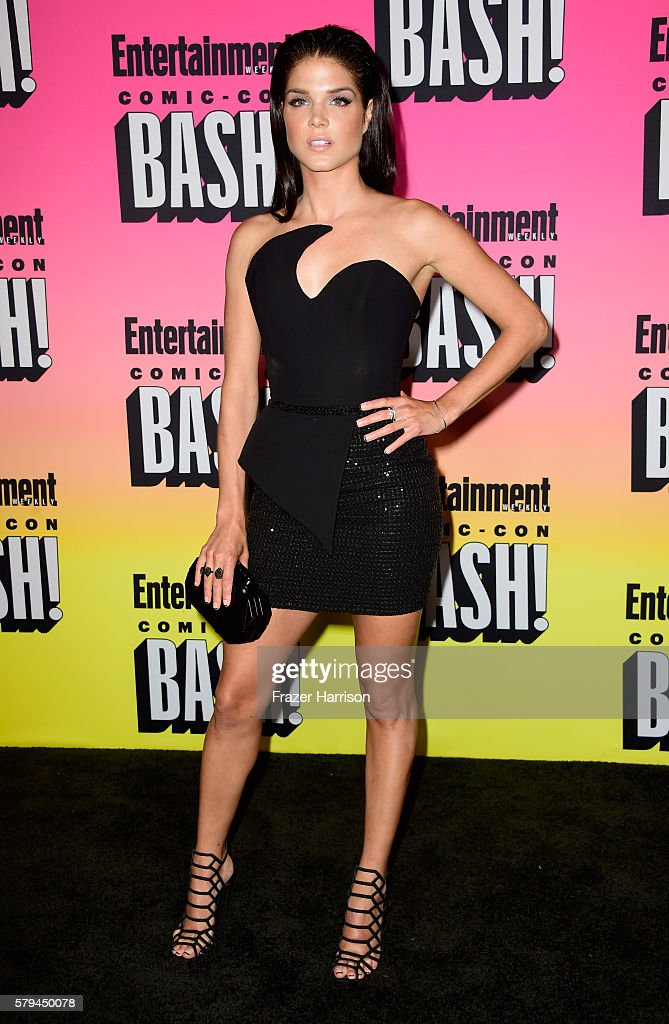 Actress Marie Avgeropoulos attends Entertainment Weekly's ComicCon Bash held at Float Hard Rock Hotel San Diego on July 23 2016 in San Diego...