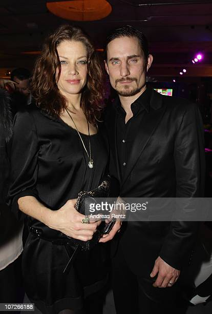 Actress Marie Baeumer and actor Clemens Schick attend the launch party for Thomas Sabo's Sterling Silver collection S/S 2011 at Soho House on...