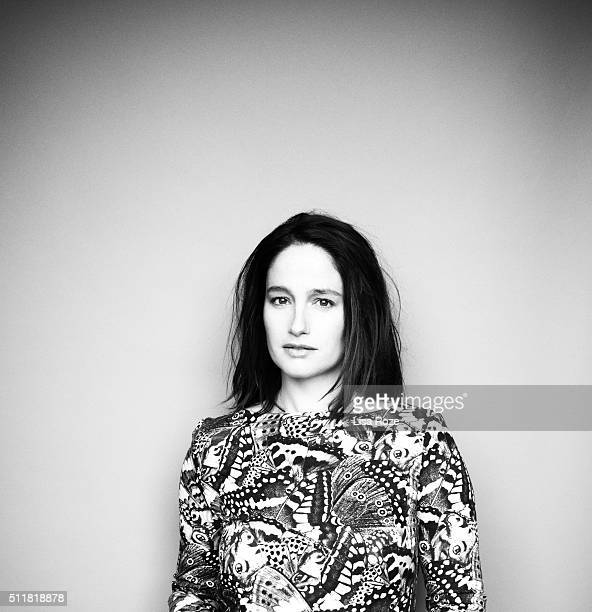 Actress Marie Gillain is photographed for Self Assignment on January 29 2016 in Paris France