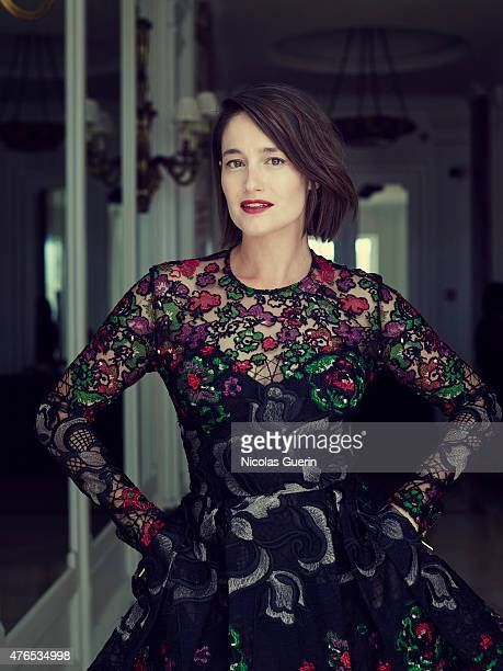 Actress Marie Gillain is photographed for Self Assignment on May 15 2015 in Cannes France