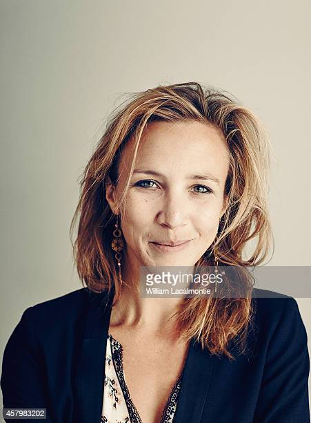 Actress Marie Kremer is photographed for Le Film Francais on October 23 2014 in Paris France