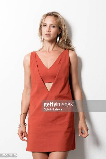 Actress Marie Kremer is photographed for Self Assignment on August 23 2017 in Angouleme France