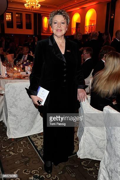 Actress Marie Luise Marjan attends the 'Felix Burda Award' at hotel Adlon on April 18 2010 in Berlin Germany