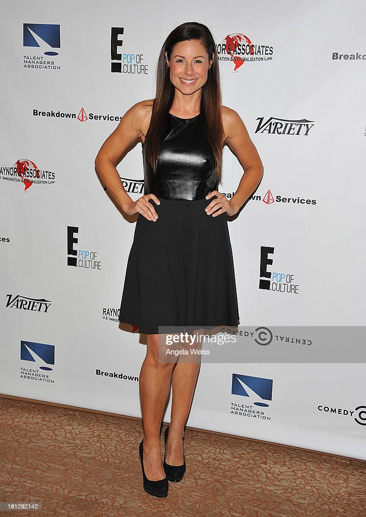 Actress Marie Wilson attends the 12th Annual Heller Awards at The Beverly Hilton Hotel on September 19, 2013 in Beverly Hills, California.