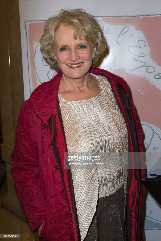 Actress Marie-Christine Barrault, President of the Gala de l'Espoir charity event against cancer, attends the event at Theatre du Chatelet on November 12, 2012 in Paris, France.